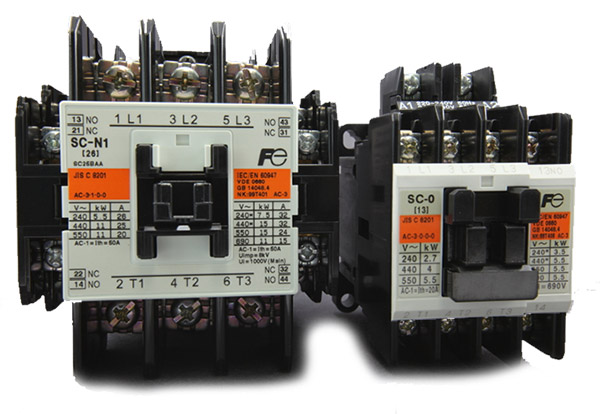 Fuji Sc Series Magnetic Contactors G S Electrical