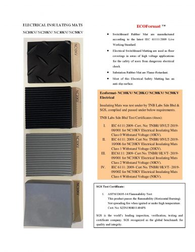 ELECTRICAL INSULATING MATS-page-001